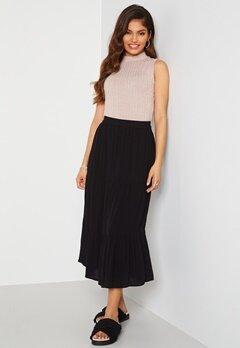 Happy Holly Bianka skirt Black Bubbleroom.fi