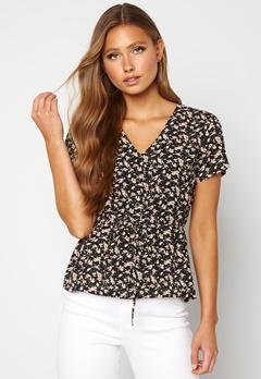 Happy Holly Blake blouse Black / Patterned Bubbleroom.fi