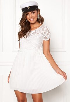 Happy Holly Blanche occasion dress White Bubbleroom.fi