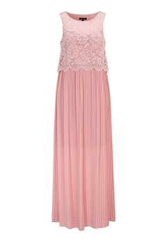 Happy Holly Blanche occasion maxi dress Dusty pink Bubbleroom.fi