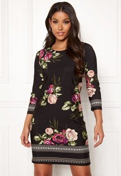 Happy Holly Blenda dress Pink / Floral Bubbleroom.fi