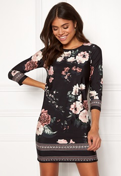 Happy Holly Blenda dress Patterned / Black Bubbleroom.fi
