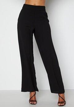 Happy Holly Bonnie wide leg pants Black bubbleroom.fi