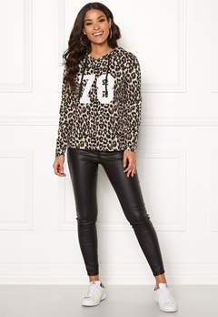 Happy Holly Camila short hood Leopard Bubbleroom.fi