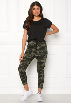 Happy Holly Carolyn tricot pants Camouflage Bubbleroom.fi