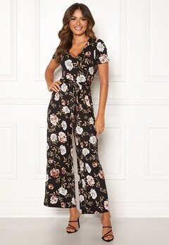 Happy Holly Celine Jumpsuit Black / Patterned Bubbleroom.fi