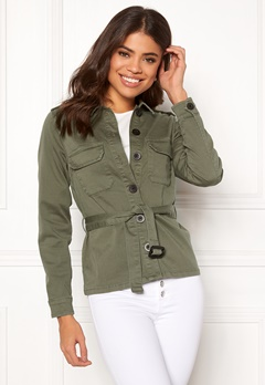 Happy Holly Cindy jacket Khaki green Bubbleroom.fi