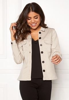 Happy Holly Cindy jacket Light beige Bubbleroom.fi