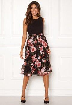 Happy Holly Clara dress Black / Patterned Bubbleroom.fi
