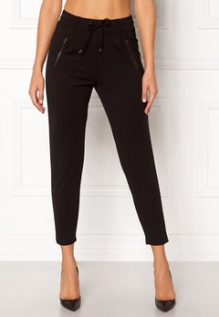 Happy Holly Cleo Trousers Black Bubbleroom.fi