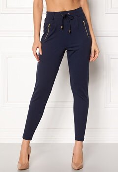 Happy Holly Cleo Trousers Dark navy Bubbleroom.fi