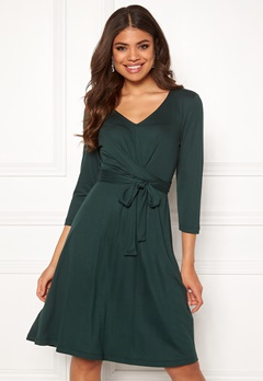 Happy Holly Colette dress Dark green Bubbleroom.fi