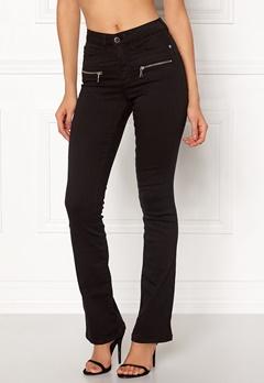 Happy Holly Debra bootcut jeans Black Bubbleroom.fi