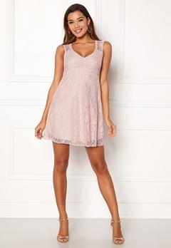 Happy Holly Della lace dress Dusty pink Bubbleroom.fi