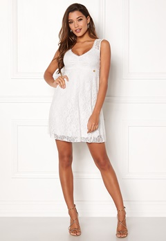Happy Holly Della lace dress White Bubbleroom.fi