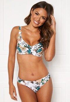 Happy Holly Donna bikini briefs White / Floral Bubbleroom.fi