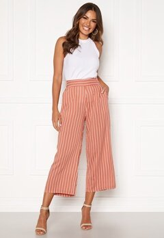 Happy Holly Ebba pants Coral / Striped Bubbleroom.fi