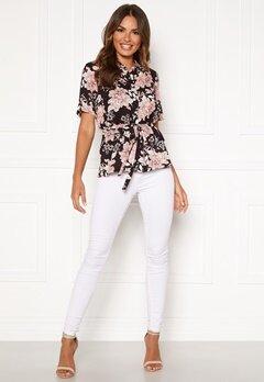 Happy Holly Ebba shirt blouse Black / Patterned Bubbleroom.fi