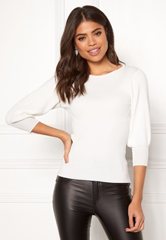Happy Holly Effie sweater Offwhite Bubbleroom.fi