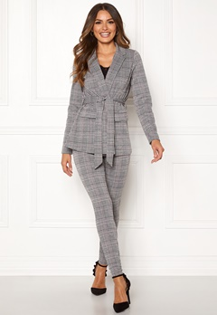 Happy Holly Eleanor tricot blazer Checked Bubbleroom.fi