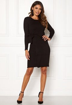 Happy Holly Elizabella knitted dress Black Bubbleroom.fi