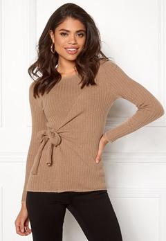 Happy Holly Elizabella sweater Beige melange Bubbleroom.fi