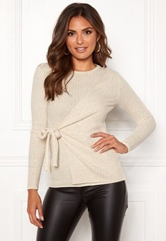 Happy Holly Elizabella sweater Offwhite / Melange Bubbleroom.fi