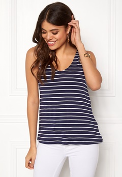 Happy Holly Ella top Navy / Striped Bubbleroom.fi