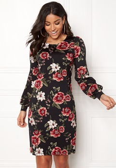 Happy Holly Ellie dress Black / Patterned Bubbleroom.fi