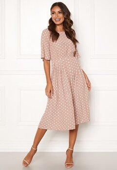 Happy Holly Eloise pleated dress Dotted Bubbleroom.fi