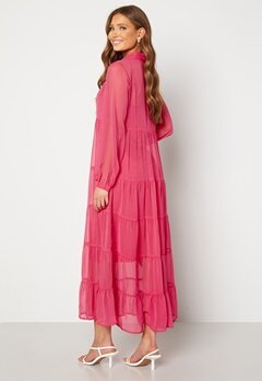 Happy Holly Elsie Maxi Dress  Cerise Bubbleroom.fi