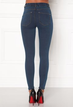 Happy Holly Elwira jeggings Dark denim Bubbleroom.fi