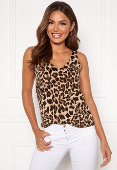 Happy Holly Embla singlet Leopard Bubbleroom.fi