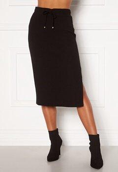 Happy Holly Emilia midi skirt Black Bubbleroom.fi