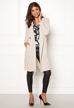 Happy Holly Emma coat Light beige Bubbleroom.fi