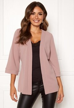 Happy Holly Estelle kimono jacket Dusty pink Bubbleroom.fi