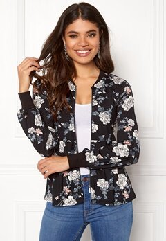 Happy Holly Fannie jacket Black / Patterned Bubbleroom.fi