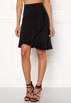Happy Holly Farah skirt Black Bubbleroom.fi