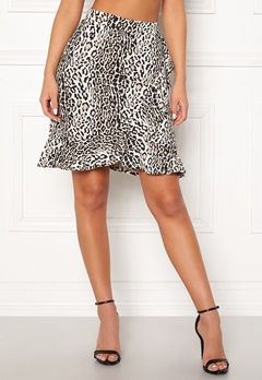 Happy Holly Farah skirt Leopard Bubbleroom.fi