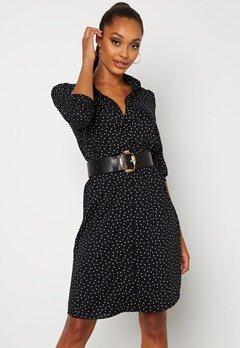 Happy Holly Felicity dress Black / Offwhite bubbleroom.fi