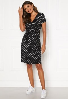Happy Holly Fiona dress Black / Dotted Bubbleroom.fi