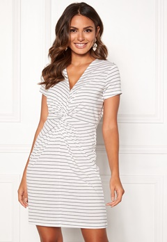 Happy Holly Fiona dress White / Striped Bubbleroom.fi