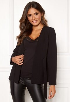 Happy Holly Florence jacket Black Bubbleroom.fi