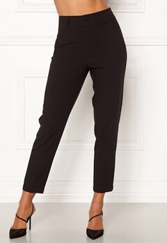 Happy Holly Florence trousers Black Bubbleroom.fi