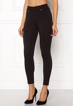 Happy Holly Franny tricot pants Black Bubbleroom.fi