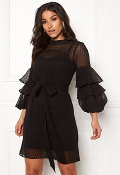 Happy Holly Gabriella dress Black Bubbleroom.fi