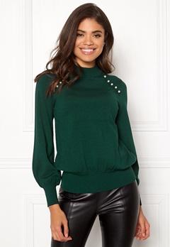 Happy Holly Genette sweater Dark green Bubbleroom.fi