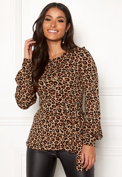 Happy Holly Gianna top Leopard / Patterned Bubbleroom.fi