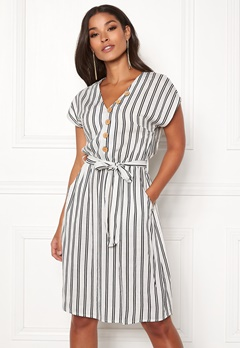 Happy Holly Gisela dress Striped Bubbleroom.fi