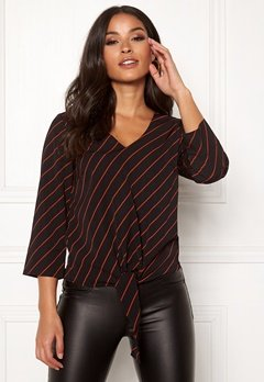 Happy Holly Grace blouse Striped Bubbleroom.fi
